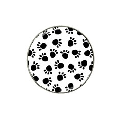 Paws Black Animals Hat Clip Ball Marker (4 pack)