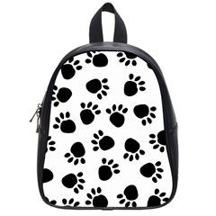Paws Black Animals School Bags (Small)