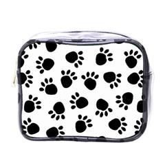 Paws Black Animals Mini Toiletries Bags