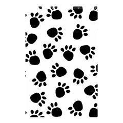 Paws Black Animals Shower Curtain 48  x 72  (Small)