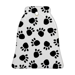 Paws Black Animals Bell Ornament (2 Sides)