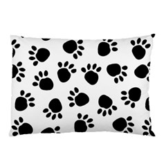 Paws Black Animals Pillow Case (Two Sides)