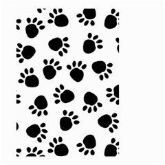 Paws Black Animals Small Garden Flag (Two Sides)