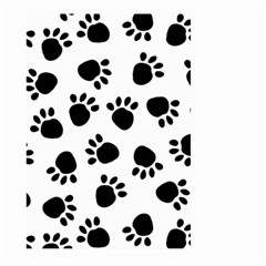Paws Black Animals Large Garden Flag (Two Sides)