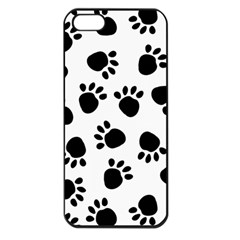 Paws Black Animals Apple iPhone 5 Seamless Case (Black)