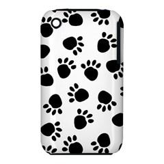 Paws Black Animals iPhone 3S/3GS