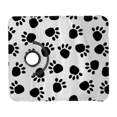 Paws Black Animals Galaxy S3 (Flip/Folio)