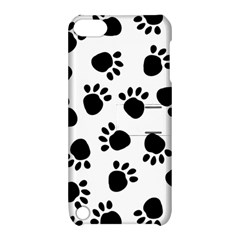 Paws Black Animals Apple iPod Touch 5 Hardshell Case with Stand