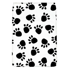 Paws Black Animals Flap Covers (L)