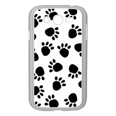 Paws Black Animals Samsung Galaxy Grand DUOS I9082 Case (White)