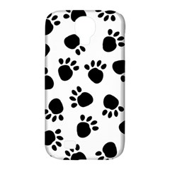 Paws Black Animals Samsung Galaxy S4 Classic Hardshell Case (PC+Silicone)