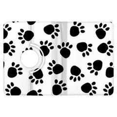 Paws Black Animals Kindle Fire HDX Flip 360 Case