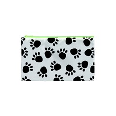 Paws Black Animals Cosmetic Bag (XS)