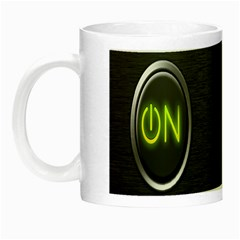On Black Night Luminous Mugs