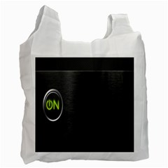 On Black Recycle Bag (Two Side)