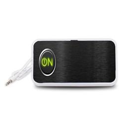 On Black Portable Speaker (White)