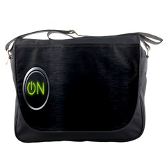 On Black Messenger Bags