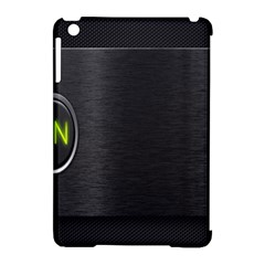 On Black Apple iPad Mini Hardshell Case (Compatible with Smart Cover)