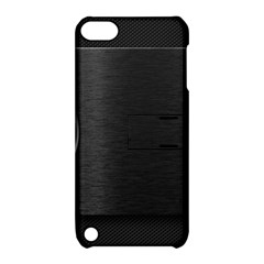 On Black Apple iPod Touch 5 Hardshell Case with Stand