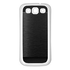 On Black Samsung Galaxy S3 Back Case (White)