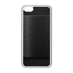 On Black Apple iPhone 5C Seamless Case (White)