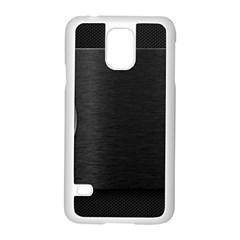 On Black Samsung Galaxy S5 Case (White)
