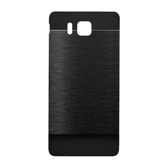 On Black Samsung Galaxy Alpha Hardshell Back Case