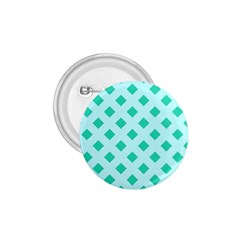Plaid Blue Box 1.75  Buttons