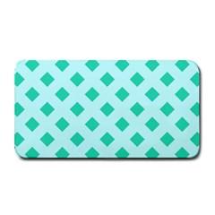 Plaid Blue Box Medium Bar Mats
