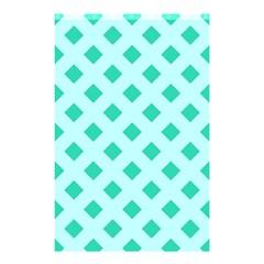Plaid Blue Box Shower Curtain 48  x 72  (Small)
