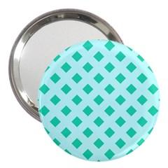 Plaid Blue Box 3  Handbag Mirrors