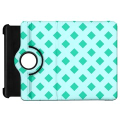 Plaid Blue Box Kindle Fire HD 7