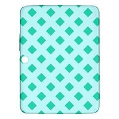 Plaid Blue Box Samsung Galaxy Tab 3 (10.1 ) P5200 Hardshell Case