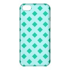 Plaid Blue Box Apple iPhone 5C Hardshell Case