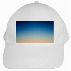 Rainbow Blue Orange Purple White Cap