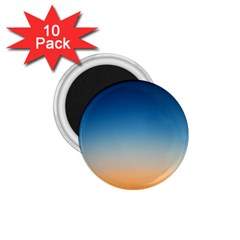 Rainbow Blue Orange Purple 1.75  Magnets (10 pack)