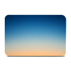 Rainbow Blue Orange Purple Plate Mats