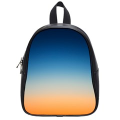 Rainbow Blue Orange Purple School Bags (Small)