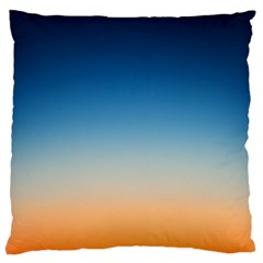 Rainbow Blue Orange Purple Large Cushion Case (One Side)