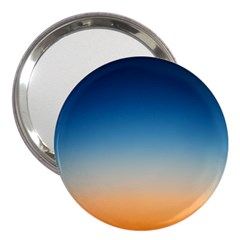 Rainbow Blue Orange Purple 3  Handbag Mirrors