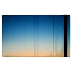Rainbow Blue Orange Purple Apple iPad 3/4 Flip Case