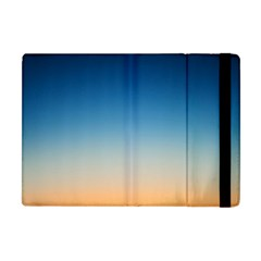 Rainbow Blue Orange Purple Apple iPad Mini Flip Case