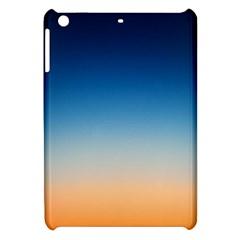 Rainbow Blue Orange Purple Apple iPad Mini Hardshell Case