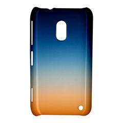 Rainbow Blue Orange Purple Nokia Lumia 620