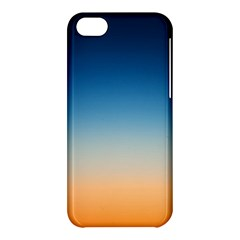 Rainbow Blue Orange Purple Apple iPhone 5C Hardshell Case