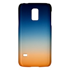 Rainbow Blue Orange Purple Galaxy S5 Mini