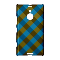Plaid Line Brown Blue Box Nokia Lumia 1520