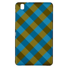Plaid Line Brown Blue Box Samsung Galaxy Tab Pro 8.4 Hardshell Case