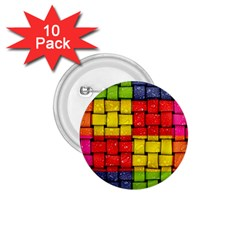 Pinterest Water Colorfull 1.75  Buttons (10 pack)