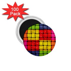 Pinterest Water Colorfull 1.75  Magnets (100 pack)